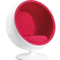 Furniture Canada — MIB Chair Red at Furniture Canada | Modern living room furniture by Zuo Modern