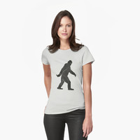 Grunge Sasquatch Bigfoot T Shirt by bitsnbobs