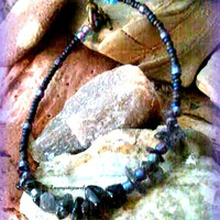 Beaded  Iolite Chakra Bracelet, Jewelry Direct Checkout, Ready to ship