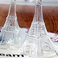 French Eiffel Tower Salt Pepper Shakers