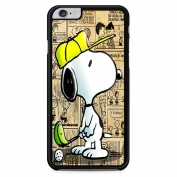 Snoopy Playing Golf iPhone 6 Plus / 6s Plus Case