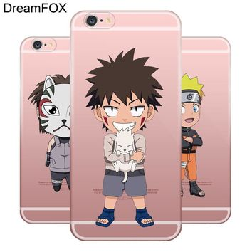 L004 Anime Naruto Soft TPU Silicone  Case Cover For Apple iPhone 7 6 6S Plus 5 5S SE 5C 4 4S