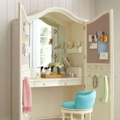 Vanity Armoire from PBteen | Epic Wishlist