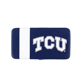 Texas Christian Horned Frogs NCAA Shell Mesh Wallet
