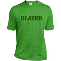 Blazed Heather Dri-Fit Moisture-Wicking Tee for Him