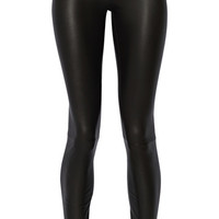 The Row - Moto stretch-leather leggings