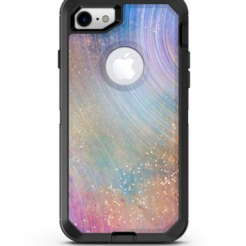 The Swirling Tie-Dye Scratched Surface 4 - iPhone 7 or 8 OtterBox Case & Skin Kits