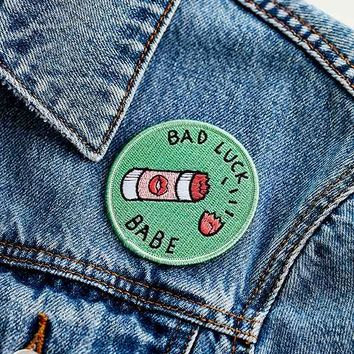 Sick Girls Official Bad Luck Babe Patch