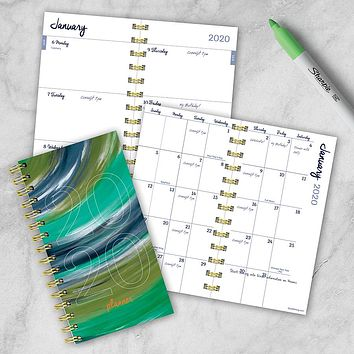 Painted Year Small Weekly/Monthly Planner