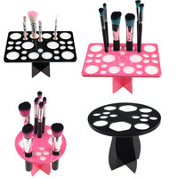 Makeup Brushes Holder Stand Tree Dry Brush Hold Brushes Accessories Aside Hang Tools Makeup Brushes