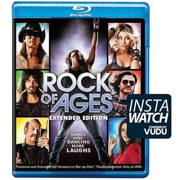 Rock Of Ages (Blu-ray + DVD + UltraViolet) (Widescreen) - Walmart.com