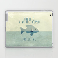 There is a whole world inside me Laptop & iPad Skin by Belle13 | Society6