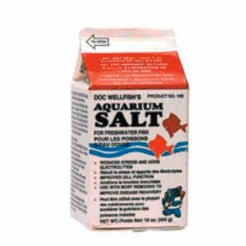 Aquarium Salt 16 oz. 1 Pint Milk Carton