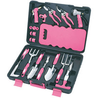 Apollo 18 Piece Pink Garden Tool Set