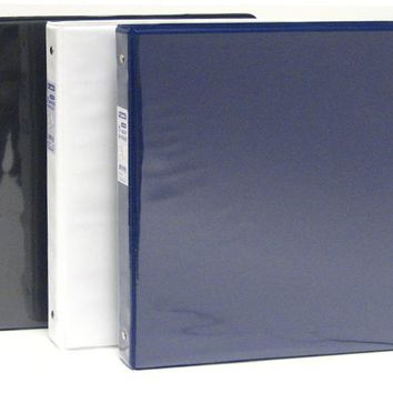 "1"" Binder with Front View Clear Sleeve"