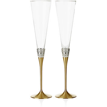 Vera Wang For Wedgwood With Love Toasting Flutes (Set of 2)
