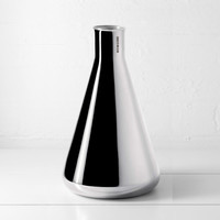 Conical Vase: Silver - Minimalux