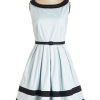 Myrtlewood Vintage Inspired Mid-length Sleeveless A-line On the Terrace Dress