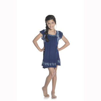 Ondademar Girls Lotto Short Dress