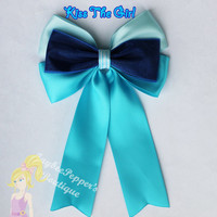 Ariel Hair bow The Little Mermaid hair bow Ariel hair clip disney inspired purple mermaid accessories girls