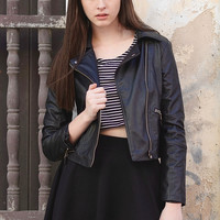 Charles Leather Jacket