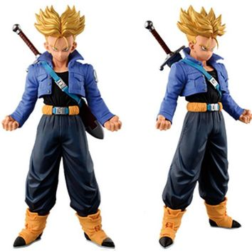 Dragon Ball Z Super Saiyan Trunks Action Figure