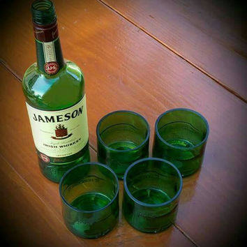 Jameson Irish whiskey cocktail glasses