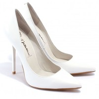 """Darling"" White - Pumps - Shoes"