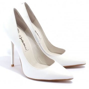 """""""Darling"""" White - Pumps - Shoes"""