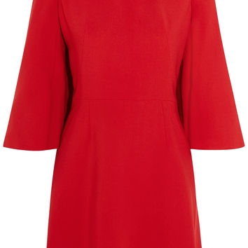 Alexander McQueen - Stretch woven mini dress