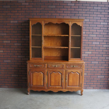 Kindel Country French Hutch / China Cabinet / French Provincial Hutch ~ Paint To Order ~
