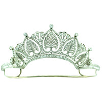 Diamond & Platinum Tiara