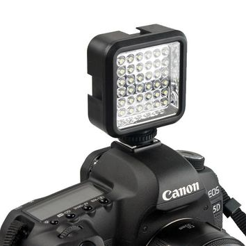 LED Video Light Lamp for Nikon and Canon Cameras