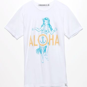 Iron & Resin Aloha T-Shirt - Mens Tee - White