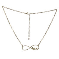 Infinite Love Pendant Necklace | Shop Jewelry at Wet Seal