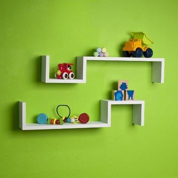 Danya B S Wall Mount Shelf - Set of 2