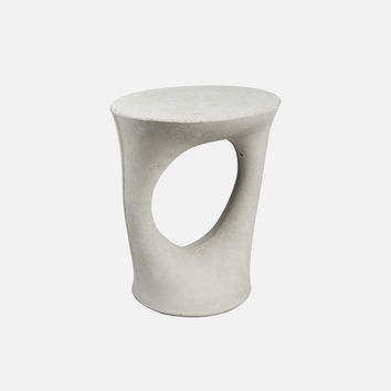 Kreten Side Table - Short / Grey