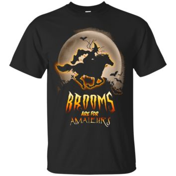 Brooms are for Amateurs 2017 Tshirt - Horse Lovers Shirt