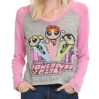 The Powerpuff Girls Trio Girls Raglan