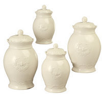 Zions Mercantile - White Bee Canisters