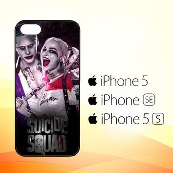 suicide squad joker and harley quinn W4443  iPhone 5|5S|SE Case