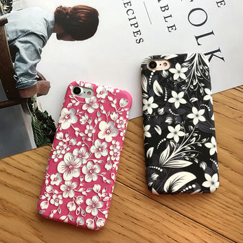 Retro Case for iPhone 7 7Plus & iPhone se 5s 6 6 Plus High Quality Cover +Gift Box