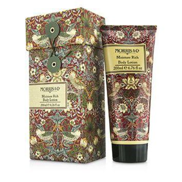 Morris And Co Strawberry Thief Moisture Rich Body Lotion Ladies Fragrance