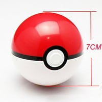 13Styles 1Pcs Pokeball + 1pcs Free Random Figures Anime Outdoor Fun & Sports Toy Balls