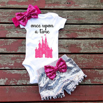 Baby Once Upon A Time Disney Princess Outfit.