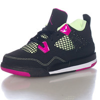 JORDAN GIRLS Black Footwear / Sneakers 5C