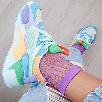Puma RS-X Toys Multicolor Sneakers Colorful Fresh Color Shoes