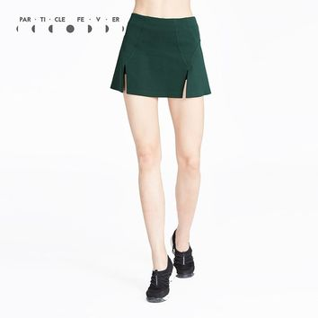 Particle Fever Two Colors High Waist Tennis Skirt Vintage A line Skorts Designer Sportswear In China