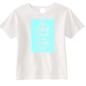 Tumble On Gymnast White T-Shirt