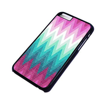 OMBRE PASTEL CHEVRON Pattern iPhone 4/4S 5/5S 5C 6 6S Plus Case Cover